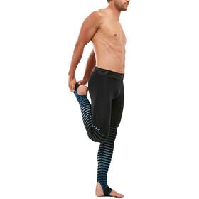 2XU Power Recovery Compression Pantaloni Uomo, black/denim